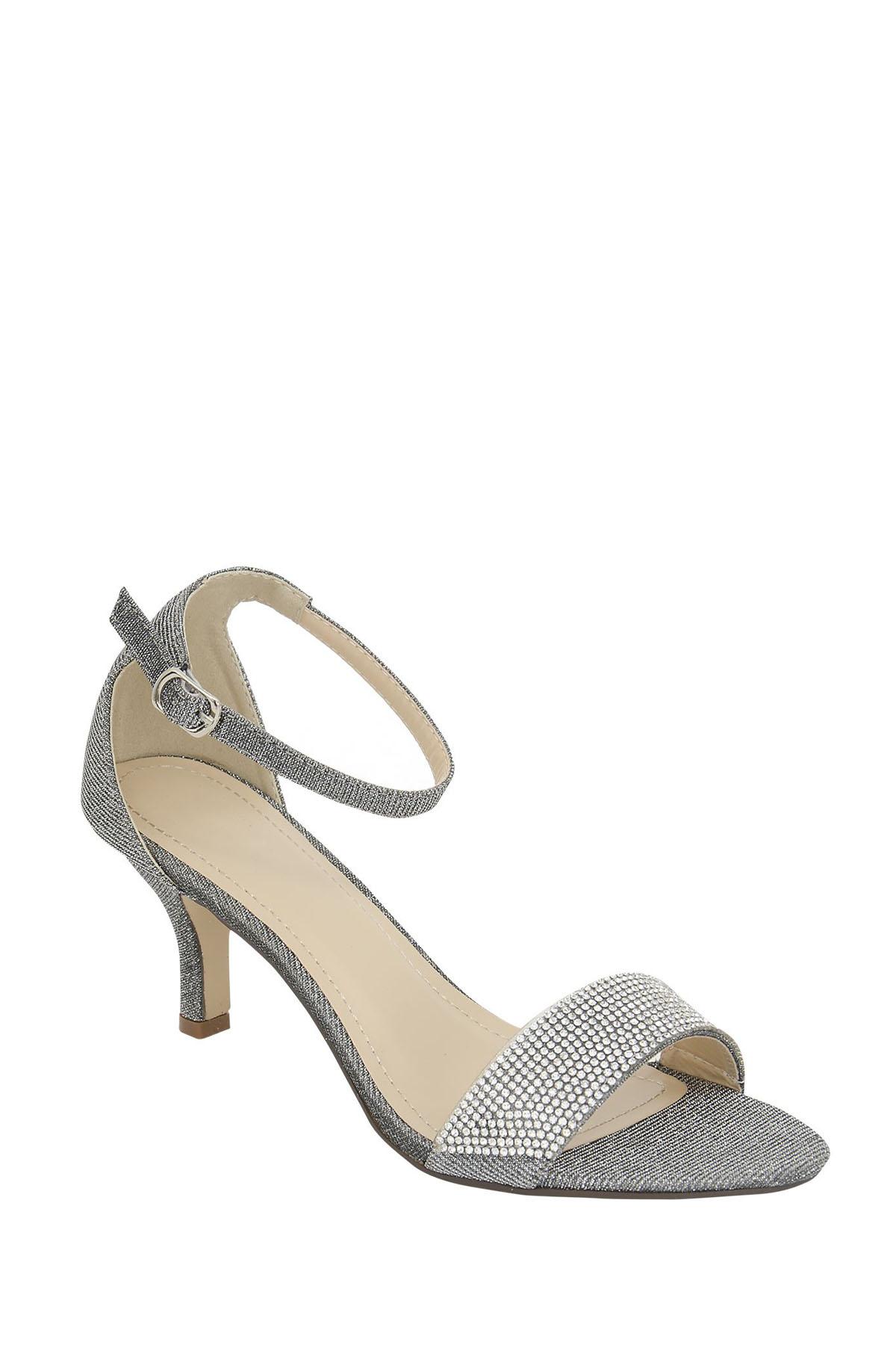 Diamante Kitten Heel Shoes