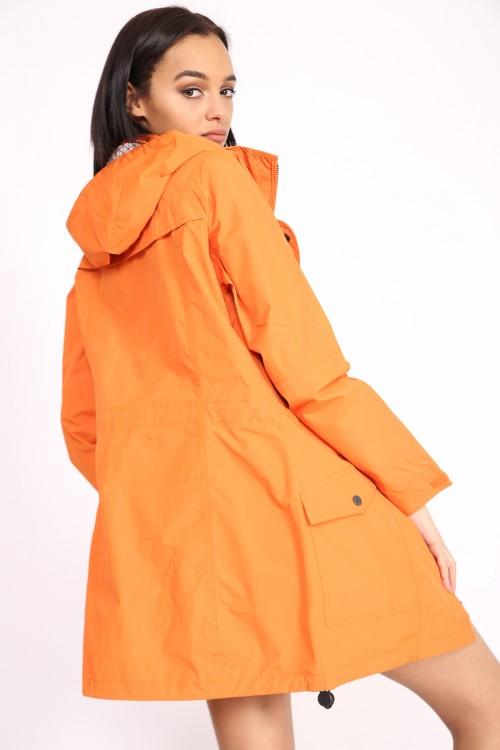 8a441b0b5c3ef SIENNA HOODED FESTIVAL RAINCOAT – ORANGE · CLOTHING ...